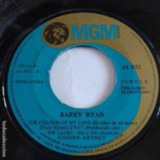 Discos de vinilo: BARRY RYAN - THE COLOUR OF MY LOVE. Lote 166392370
