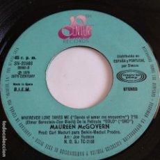Discos de vinilo: MAUREEN MCGOVERN - WHEREVER LOVES TAKE ME. Lote 166392578