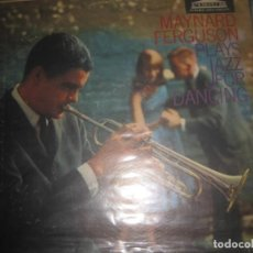Discos de vinilo: MAYNARD FERGUSON -(LP)- PLAYS JAZZ FOR DANCING (FORUM MONO - 1959 ) EDITADO USA. Lote 166404074