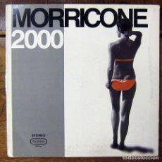 Discos de vinilo: ENNIO MORRICONE 2000 - RECOPILACIÓN DE TEMAS DE BANDAS SONORAS - 1999 - BSO - PELICULAS. Lote 166412354