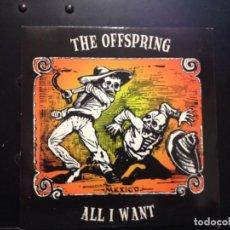 Discos de vinilo: THE OFFSPRING - ALL I WANT / SINGLE 7' VINILO DE COLOR. EPITAPH RECORDS / NUEVO. Lote 179381100
