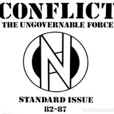 Discos de vinilo: CONFLICT - STANDARD ISSUE 82 - 87 - 2019 BEAT GENERATION RECORDS REISSUE. Lote 166431046