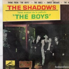 Discos de vinilo: SINGLE CARPETA DE THE SHADOWS (SIN VINILO). Lote 166434678