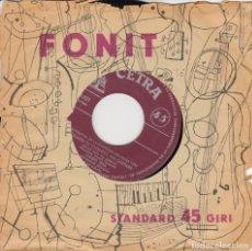 Disques de vinyle: CLAUDIO VILLA QUAND TU CHANTE, MA GUITARRE /SCUSAMI COVER STANDARD FONIT IN FRENCH. Lote 166439082