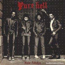 Discos de vinilo: PURE HELL - NOISE ADDICTION - 2016 BEAT GENERATION RECORDS REISSUE. Lote 166442610