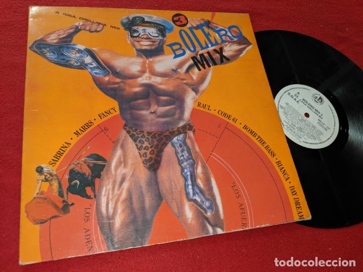 BOLERO MIX 3 LP 1988 BLANCO Y NEGRO GATEFOLD SPAIN ESPAÑA RECOPILATORIO FANCY+RAUL+CODE 61+ETC (Música - Discos - LP Vinilo - Disco y Dance)