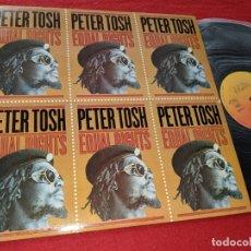 Discos de vinilo: PETER TOSH EQUAL RIGHTS LP 1979 CBS SPAIN ESPAÑA. Lote 166449286
