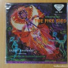Discos de vinilo: STRAVINSKY - THE FIRE BIRD - LP. Lote 166450908
