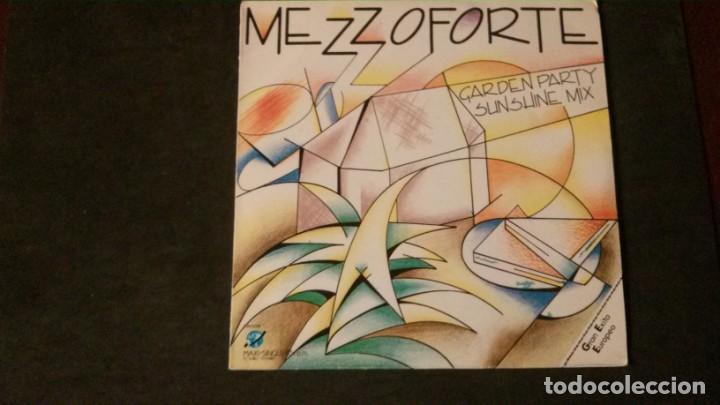 Discos de vinilo: MAXI SINGLE-MEZZOFORTE-THIS IS THE NIGHT-FEATURING NOEL MCCALLA-1985-PERFECTO - Foto 2 - 166452514