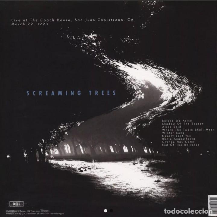 Discos de vinilo: Screaming Trees * LP Heavyweight 180g* Live At The Coach House San Juan Capistrano 1993 Precintado - Foto 2 - 166454170