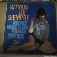 Discos de vinilo: GRAN ORQUESTA TÍPICA - RITMOS DE SIEMPRE. Lote 166455764