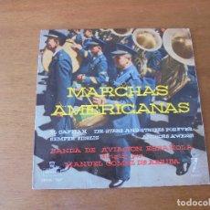 Discos de vinilo: EP VINILO: MARCHAS AMERICANAS. BANDA DE AVIACIÓN ESPAÑOLA. MONTILLA. ZAFIRO. CUATRO TEMAS. Lote 166459638