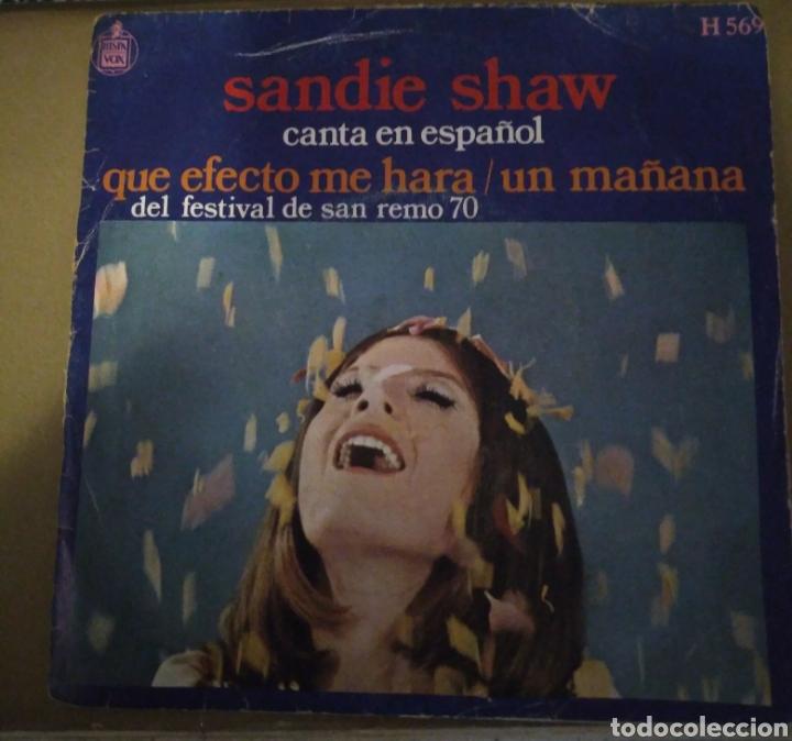 SANDIE SHAW - CANTA EN ESPAÑOL. QUE EDECTO ME HARÁ. FESTIVAL SAN REMO 70 (Música - Discos - Singles Vinilo - Otros Festivales de la Canción)