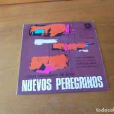 Discos de vinilo: NUEVOS PEREGRINOS. CORAL ISIDORIANA DE LEÓN. CUATRO TEMAS. DIRECTOR FELIPE MAGDALENO, PBRO.. Lote 166467062