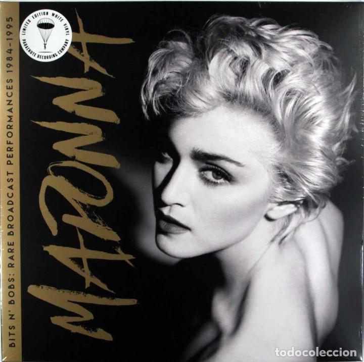 MADONNA * 2LP VINILOS BLANCOS!! * BITS N' BOBS * LIMITED EDITION * GATEFOLD * PRECINTADO (Música - Discos - LP Vinilo - Pop - Rock - New Wave Extranjero de los 80)