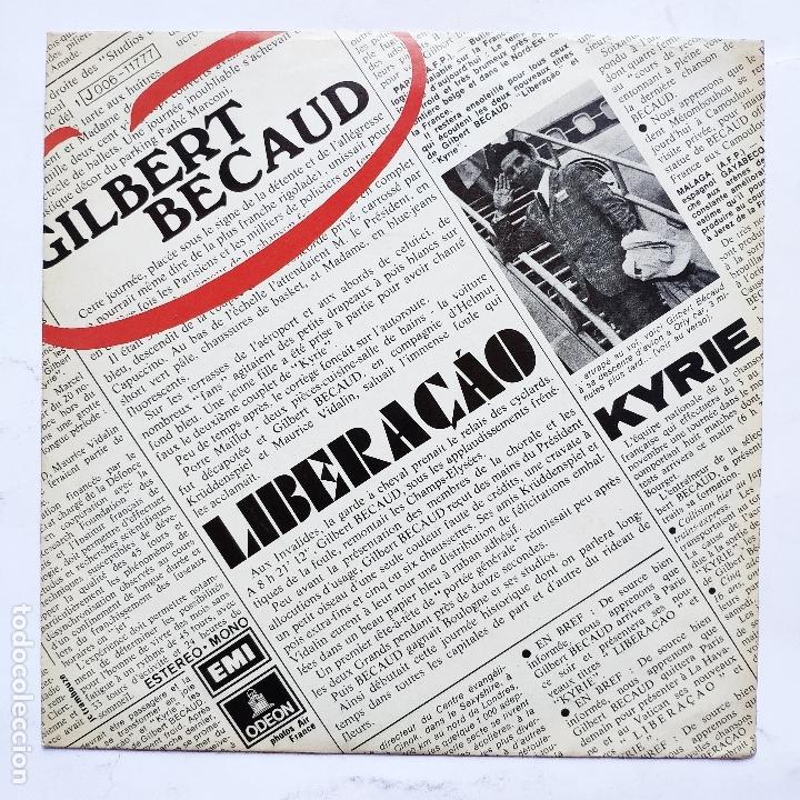 GILBERT BECAUD - LIBERACAO (Música - Discos - Singles Vinilo - Otros estilos)