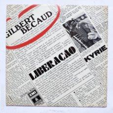 Disques de vinyle: GILBERT BECAUD - LIBERACAO. Lote 166470278