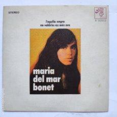 Disques de vinyle: MARIA DEL MAR BONET - L' AGUILA NEGRA. Lote 166470382