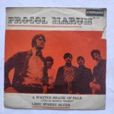 Discos de vinilo: PROCOL HARUM - A WHITE SHADE OF PALE. Lote 166470558