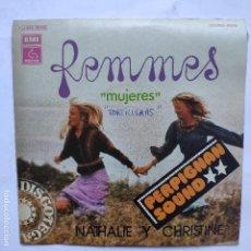 Discos de vinilo: NATHALIE Y CHRISTINE - FEMMES. Lote 166470658
