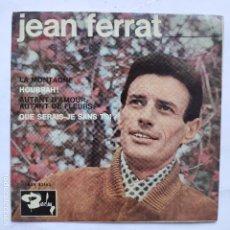 Discos de vinilo: EP JEAN FERRAT - LA MONTAGNE. Lote 166473910