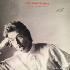 Discos de vinilo: HUEY LEWIS AND THE NEWS. PERFECT WORLD.. Lote 166475730
