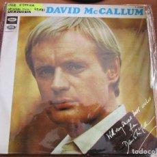 Discos de vinilo: ORQUESTA DIRIGIDA POR DAVID MCCALLUM 1968 / THE SHADOW OF YOUR SIMILE / YESTERDAY / ALFIE /. Lote 166480258