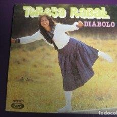 Disques de vinyle: TERESA RABAL SG MOVIEPLAY 1982 DIABOLO/ VIVAN LOS NIÑOS - TVE TELEVISION - SIN ESTRENAR. Lote 166480910