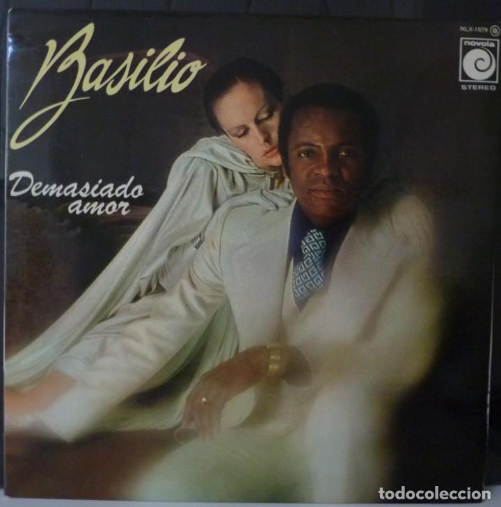 BASILIO // DEMASIADO AMOR // 1977 // PORTADA DOBLE // (VG G). LP. ENCARTE (Música - Discos - LP Vinilo - Solistas Españoles de los 70 a la actualidad)