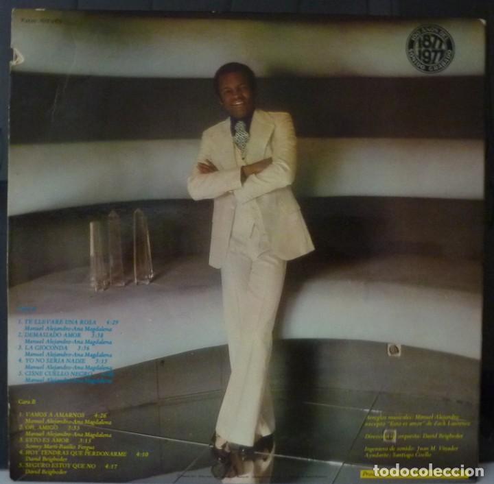 Discos de vinilo: BASILIO // DEMASIADO AMOR // 1977 // PORTADA DOBLE // (VG G). LP. ENCARTE - Foto 2 - 166490058