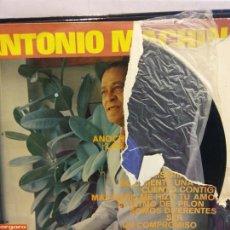Discos de vinilo: BJS.DISCO DE VINILO.LP.ANTONIO MACHIN.VERGARA.. Lote 184105973