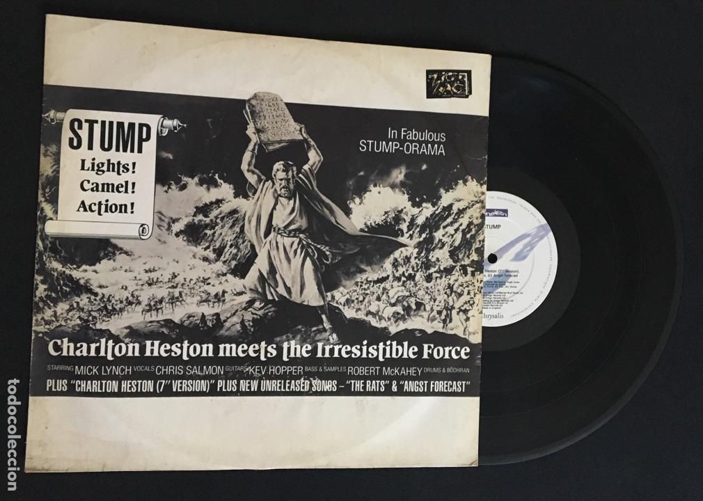 DISCO MAXI SINGLE VINILO 12'' STUMP – CHARLTON HESTON EDICION INGLESA DE 1988 (Música - Discos de Vinilo - Maxi Singles - Electrónica, Avantgarde y Experimental)