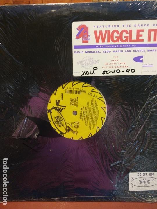 BJS.DISCO DE VINILO.LP.WIGGLE IT.STEREO. (Música - Discos - LP Vinilo - Otros estilos)