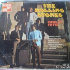 Discos de vinilo: THE ROLLING STONES GREAT HITS. Lote 166498798