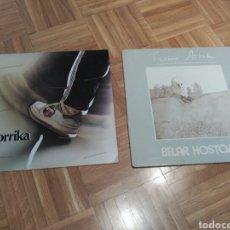 Discos de vinilo: LOTE DE LPS KORRIKA Y TXOMIN ARTOLA. Lote 166500701
