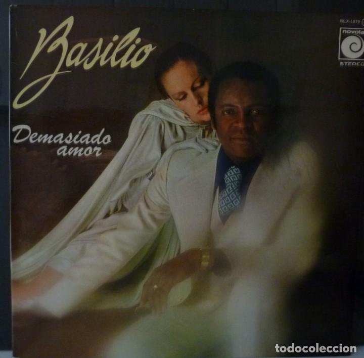 BASILIO // DEMASIADO AMOR // 1977 // PORTADA DOBLE // (VG VG). LP ENCARTE (Música - Discos - LP Vinilo - Solistas Españoles de los 70 a la actualidad)