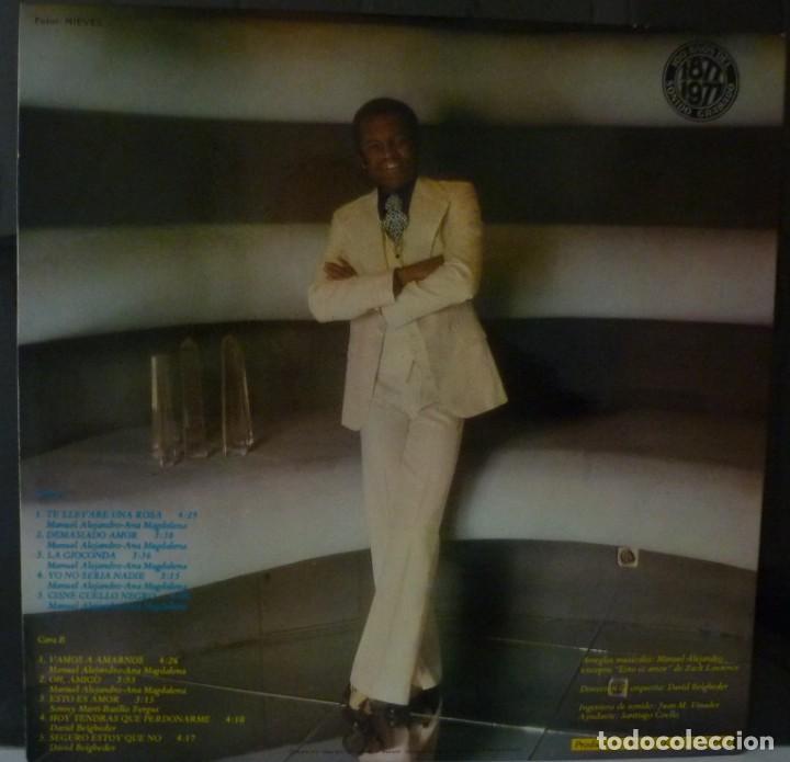 Discos de vinilo: BASILIO // DEMASIADO AMOR // 1977 // PORTADA DOBLE // (VG VG). LP ENCARTE - Foto 2 - 166501194