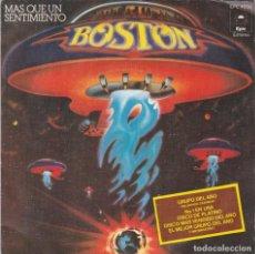 Disques de vinyle: BOSTON,MAS QUE UN SENTIMIENTO DEL 76. Lote 166502838