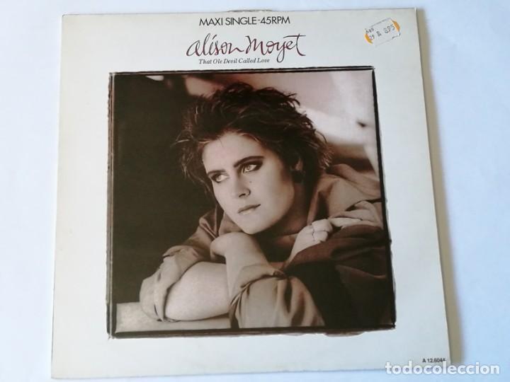 ALISON MOYET - THAT OLE DEVIL CALLED LOVE - 1985 (Música - Discos de Vinilo - Maxi Singles - Jazz, Jazz-Rock, Blues y R&B)