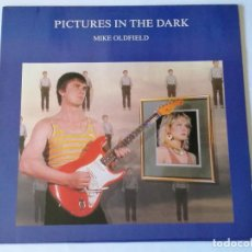 Discos de vinilo: MIKE OLDFIELD - PICTURES IN THE DARK - 1985. Lote 166511502