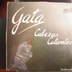 Discos de vinilo: GATA- CABEZAS CALIENTES. MINI LP.. Lote 166530222