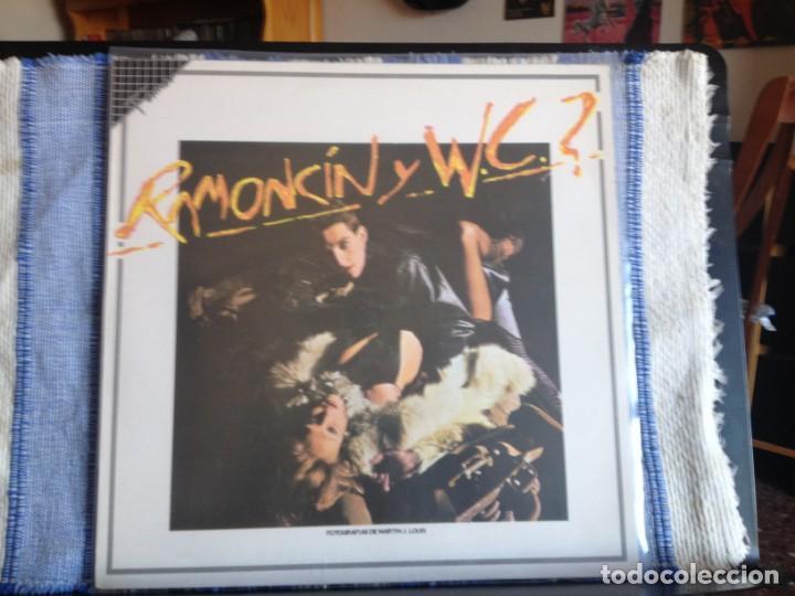 RAMONCIN Y W.C.? / ALBUM LP MADE IN SPAIN REISSUE FAME1986 EMI ODEON. NM - NM (Música - Discos - LP Vinilo - Punk - Hard Core)