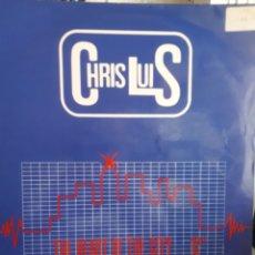 Discos de vinilo: CHRIS LUIS -THE HEART OF THE CITY. Lote 166542617