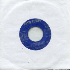 Discos de vinilo: LATIN COMBO / DANS LE CREUX DE TA MAIN (III FESTIVAL DE LA CANCION MEDITERRANEA) EP 1961 VINILO AZUL. Lote 166544026