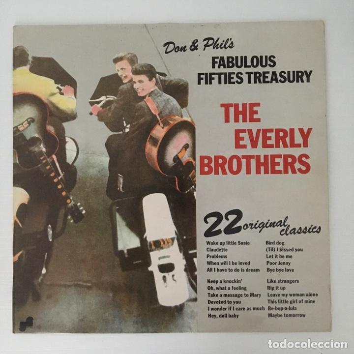 LP - THE EVERLY BROTHERS - FABULOUS FIFTIES TREASURY - VINILO (Música - Discos - LP Vinilo - Pop - Rock Extranjero de los 50 y 60)