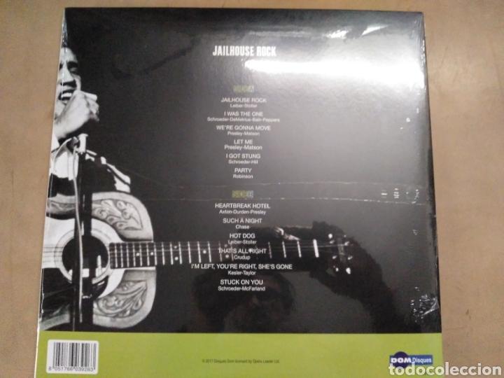 Discos de vinilo: Jailhouse rock-elvis Presley precintado - Foto 3 - 166551654
