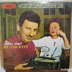 Discos de vinilo: MON AMI JO COURTIN Y SU CONJUNTO MUSETTE - LP. DEL SELLO DIM RECORD 1968. Lote 166552870