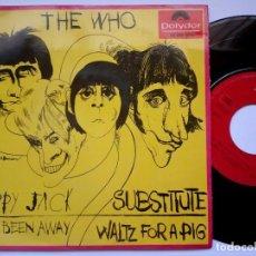 Discos de vinilo: THE WHO - HAPPY JACK - EP 1967 - POYDOR. Lote 166553190