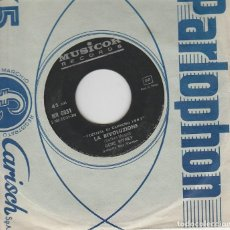 Discos de vinilo: GENE PITNEY GUARDATI ALLE SPALLE /LA RIVOLUZIONE NO COVER FESTIVAL DI SANREMO 1967. Lote 166554414