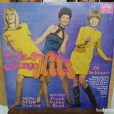 Discos de vinilo: NON-STOP DANCING CON FRANK VALDOR BAND - GRANDES HITS - LP. DEL SELLO DIM RECORD 1968. Lote 166558014